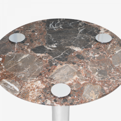 Pace Collection Marble Chrome Cocktail Table in the Style of Leon Rosen for Pace Collection - 1910795