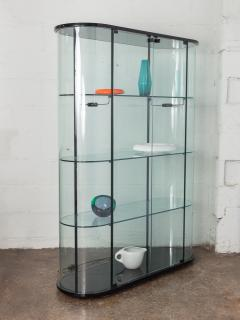 Pace Collection Pace Collection Tall Rounded Glass Vitrine - 963932