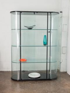 Pace Collection Pace Collection Tall Rounded Glass Vitrine - 963938