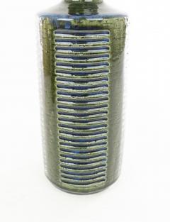 Palshus A pair of green blue DL 30 table lamps by Linnemann Schmidt for Palshus 1960s - 1768101