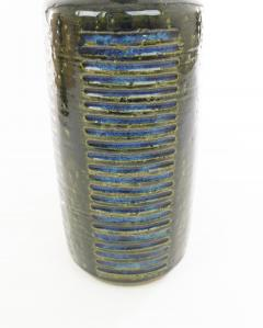 Palshus A pair of green blue DL 30 table lamps by Linnemann Schmidt for Palshus 1960s - 1768103