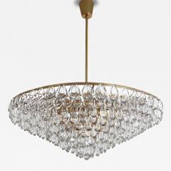 Palwa Brass and Glass Chandelier by Palwa - 75619