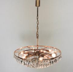 Palwa Extraordinary Huge Palwa Gilded Brass and Crystal Glass Chandelier - 544699