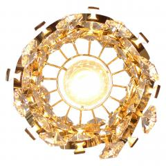 Palwa Gilt Brass Crystal Pendant Light by Palwa - 1641347