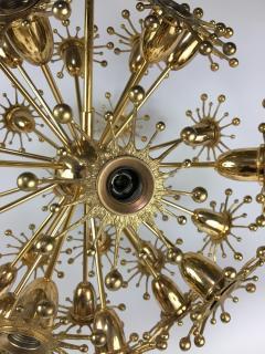 Palwa Gilt Brass Sputnik Chandelier by Palwa - 575556
