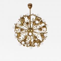 Palwa Gilt Brass Sputnik Chandelier by Palwa - 576744