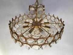Palwa Gilt Brass and Glass Fixture by Palwa - 575522