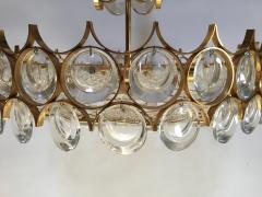 Palwa Gilt Brass and Glass Fixture by Palwa - 575523