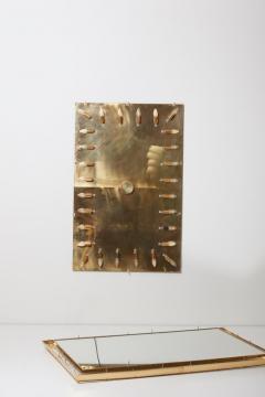 Palwa Outstanding Square Illuminated Palwa Crystal Glass Mirror Model S100W - 1127044