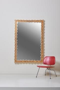 Palwa Outstanding Square Illuminated Palwa Crystal Glass Mirror Model S100W - 1127045