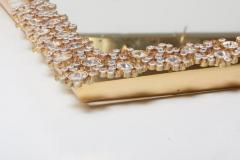 Palwa Outstanding Square Illuminated Palwa Crystal Glass Mirror Model S100W - 1127051