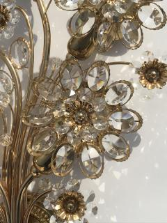 Palwa Pair of Crystal Wall Sconces by Palwa - 461721