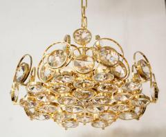 Palwa Palwa Gilt Brass and Crystal Chandelier - 842243
