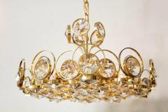 Palwa Palwa Gilt Brass and Crystal Chandelier - 842244