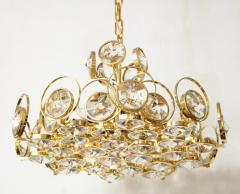 Palwa Palwa Gilt Brass and Crystal Chandelier - 842245