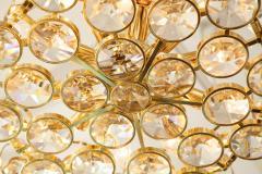 Palwa Palwa Gilt Brass and Crystal Chandelier - 842247