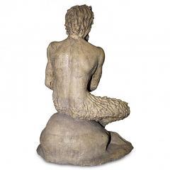 Pan Satyr Mythological Garden Stone Figure - 137556