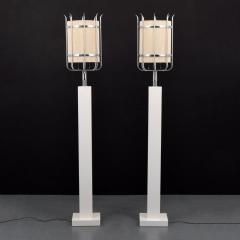 Parzinger Originals Pair of Custom Tommi Parzinger Floor Lamps - 1644584