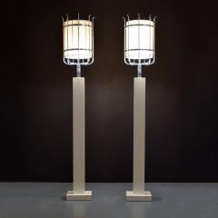 Parzinger Originals Pair of Custom Tommi Parzinger Floor Lamps - 1644585