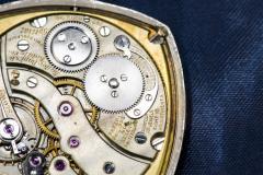 Patek Philippe Co 1930s Patek Philippe Platinum Sapphire Diamond Factory Set Pocket Watch - 867764