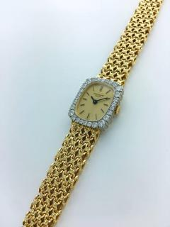 Patek Philippe Co 1970s Patek Philippe Diamond Gold Wristwatch - 456108