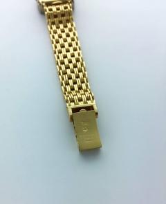 Patek Philippe Co 1970s Patek Philippe Diamond Gold Wristwatch - 456109