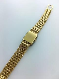 Patek Philippe Co 1970s Patek Philippe Diamond Gold Wristwatch - 456112