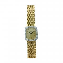 Patek Philippe Co 1970s Patek Philippe Diamond Gold Wristwatch - 456456