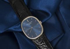 Patek Philippe Co Mint 1960s Patek Philippe 18kt White Gold Ellipse Mens Wristwatch - 434936