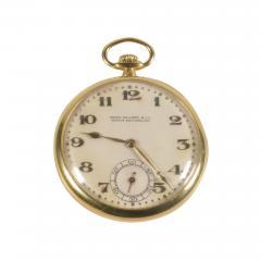 Patek Philippe Co Patek Philippe 18 Karat Yellow Gold Open Face Pocket Watch circa 1920 - 1140625