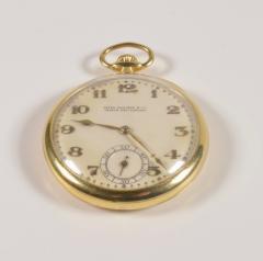 Patek Philippe Co Patek Philippe 18 Karat Yellow Gold Open Face Pocket Watch circa 1920 - 963635