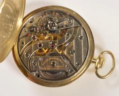 Patek Philippe Co Patek Philippe 18 Karat Yellow Gold Open Face Pocket Watch circa 1920 - 963636