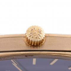 Patek Philippe Co Patek Philippe Ladies Blue Dial 18K Wrist Watch - 2074791