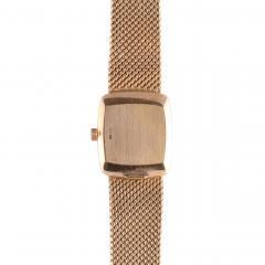Patek Philippe Co Patek Philippe Ladies Blue Dial 18K Wrist Watch - 2074794