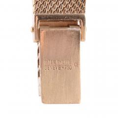 Patek Philippe Co Patek Philippe Ladies Blue Dial 18K Wrist Watch - 2074795