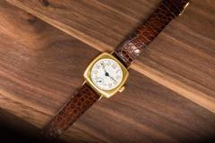 Patek Philippe Co Rare 1920s 18kt YG Tiffany for Patek Philippe Enamel Cushion Officers Wristwatch - 1113312