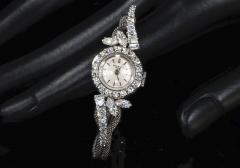 Patek Philippe Co Rare 1950s 1960s Patek Philippe Platinum Triple Diamond Twist Motif Bracelet - 1423315