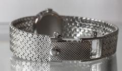 Patek Philippe Co Rare Patek Philippe 18kt White Gold Ruby Diamond Factory Set Wristwatch - 867460