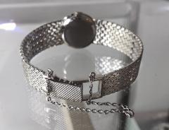 Patek Philippe Co Rare Patek Philippe 18kt White Gold Ruby Diamond Factory Set Wristwatch - 867461