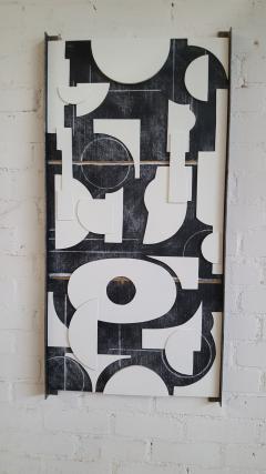 Paul Marra Design Art Panel Modernist Frieze - 1938174