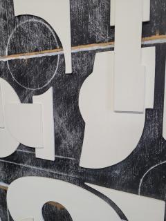 Paul Marra Design Art Panel Modernist Frieze - 1938178