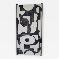 Paul Marra Design Art Panel Modernist Frieze - 1957128