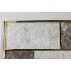Paul Marra Design Art Wall Panel with Mixed Materials and Textured Finish by Paul Marra - 1313678