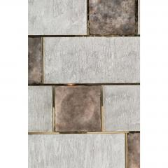 Paul Marra Design Art Wall Panel with Mixed Materials and Textured Finish by Paul Marra - 1313685