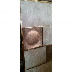 Paul Marra Design Art Wall Panel with Mixed Materials and Textured Finish by Paul Marra - 1313690