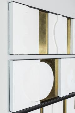 Paul Marra Design Art Wall Sculpture Modernist Frieze Panels Triptych by Paul Marra - 1285784