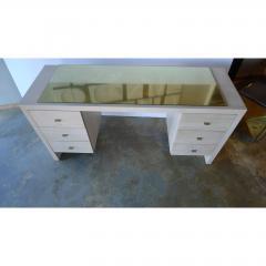 Paul Marra Design Modern Desk in Bleached Oak by Paul Marra - 1306282