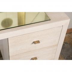Paul Marra Design Modern Desk in Bleached Oak by Paul Marra - 1306283