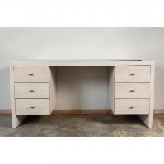 Paul Marra Design Modern Desk in Bleached Oak by Paul Marra - 1306285