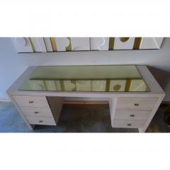 Paul Marra Design Modern Desk in Bleached Oak by Paul Marra - 1306287
